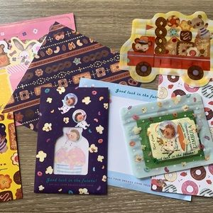 Assorted Japanese Paper and Cards